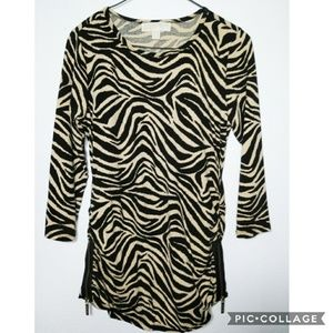 Michael Kors Tiger Print Medium Top